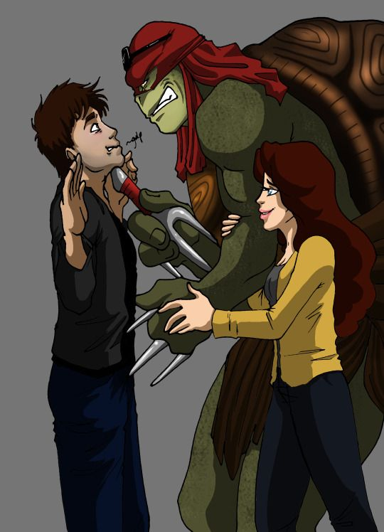 97 best images about Raphael and April (tmnt) on Pinterest ...