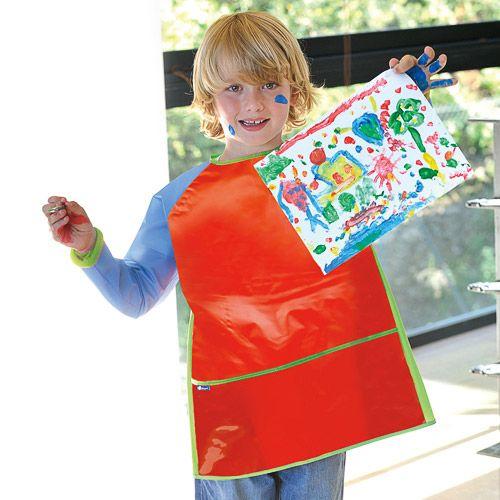 +3anos 11€ Bata de plástico impermeable para manualidades