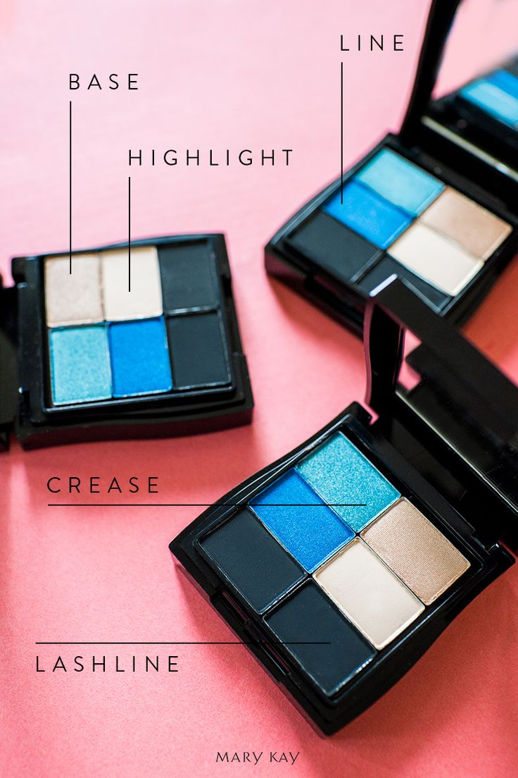 One of this summer's hottest hues? Blue! Create a bold smoky eye for a hot summer night with Mary Kay® Mineral Eye Colors in Azure, Peacock Blue, Honey Spice, Sweet Cream