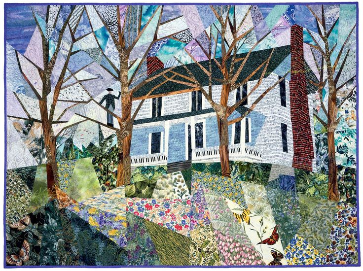Granddaddy and the Music Homeplace « Ann Harwell, Fabric Artist