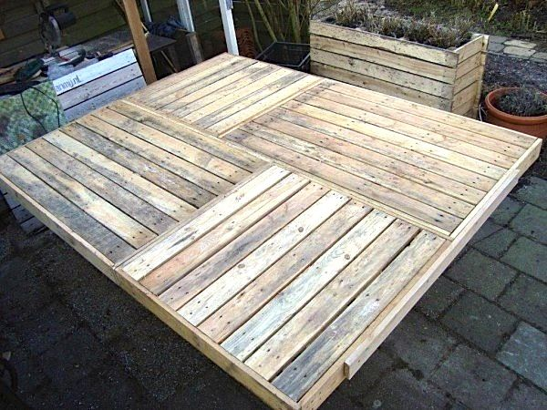 grote eettafel pallethout