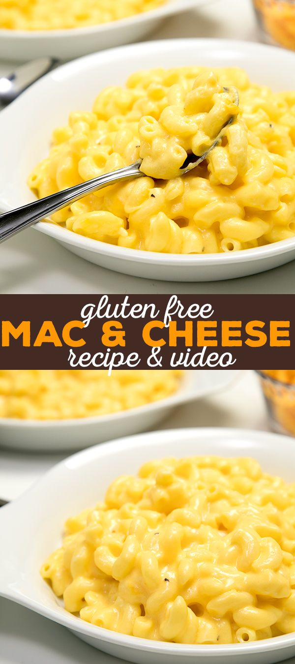Get this super easy gluten free mac and cheese recipe — made on the stovetop in about 20 minutes. No eggs needed!
