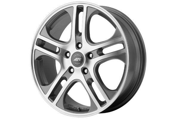 American Racing Axl Wheels - Best Price on AR887 Rims - AR Axl Chrome 5 Spoke Wheels - 14, 15, 17 & 18 Inch Rims