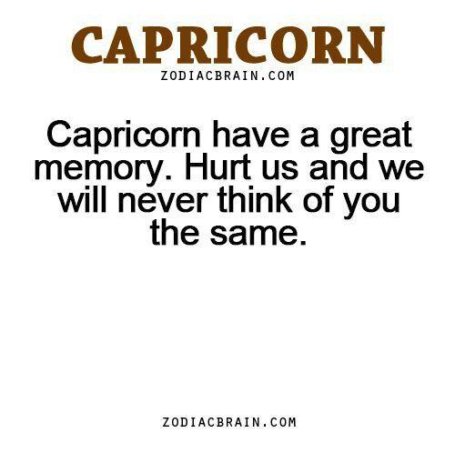 Capricorn , that's me .