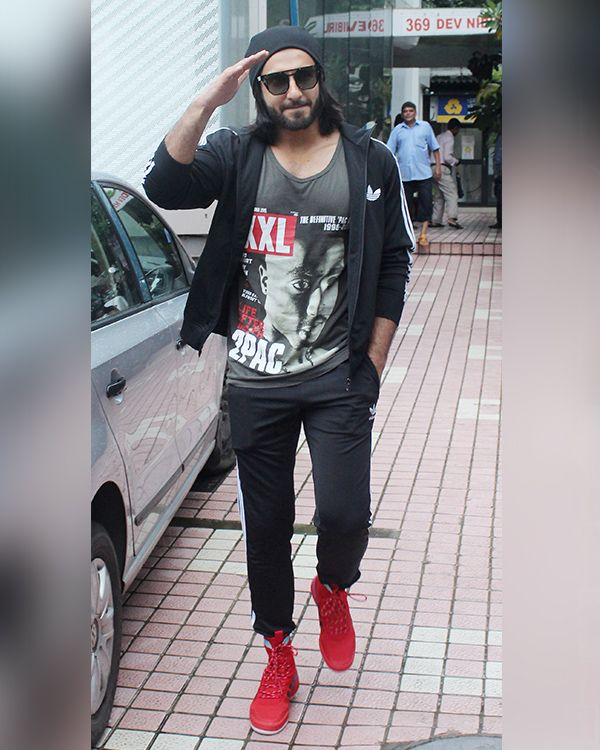 Fashion pick of the day: When Ranveer Singh got his gym swag and sass bang on! View Pics #FansnStars
