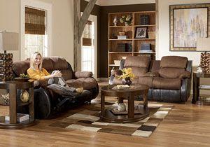 Presley Espresso Reclining Sofa