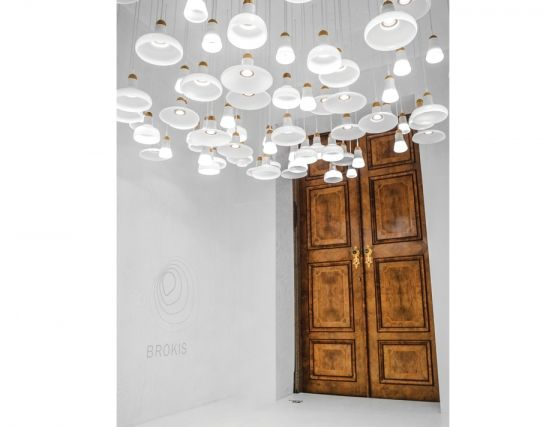 Modern Designer Pendant Lighting - Shadows by Brokis