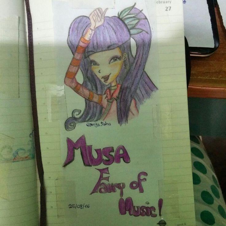 Musa fairy of music #musawinxclub #winxclub #musa #fairyofnature #winxcouture