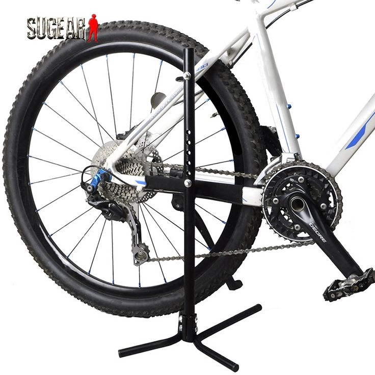 32.39$  Watch now - http://aigr4.worlditems.win/all/product.php?id=32614423305 - Outdoor Branch Shape Portable Steel Adjustable Bike Repair Stand For MTB Repair Parking Holder Storage Stand Bike Floor Stand