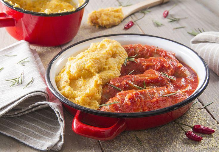 Polenta alla zucca con salsiccia piccante | Polenta Valsugana