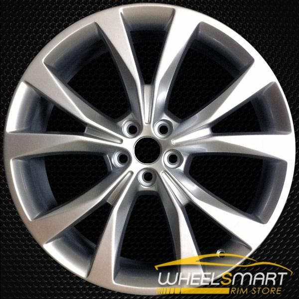 21 Ford Edge Oem Wheel 2015 2018 Silver Alloy Stock Rim 10048