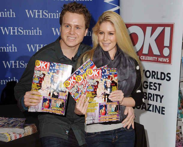 Lololololol how pathetic can two people be???? Spencer and Heidi's home office's walls are covered with nearly all of the magazine and tabloid covers they have ever been on.
