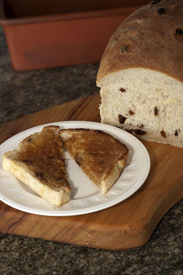 Thermomix Sultana Bread with cinnamon sugar