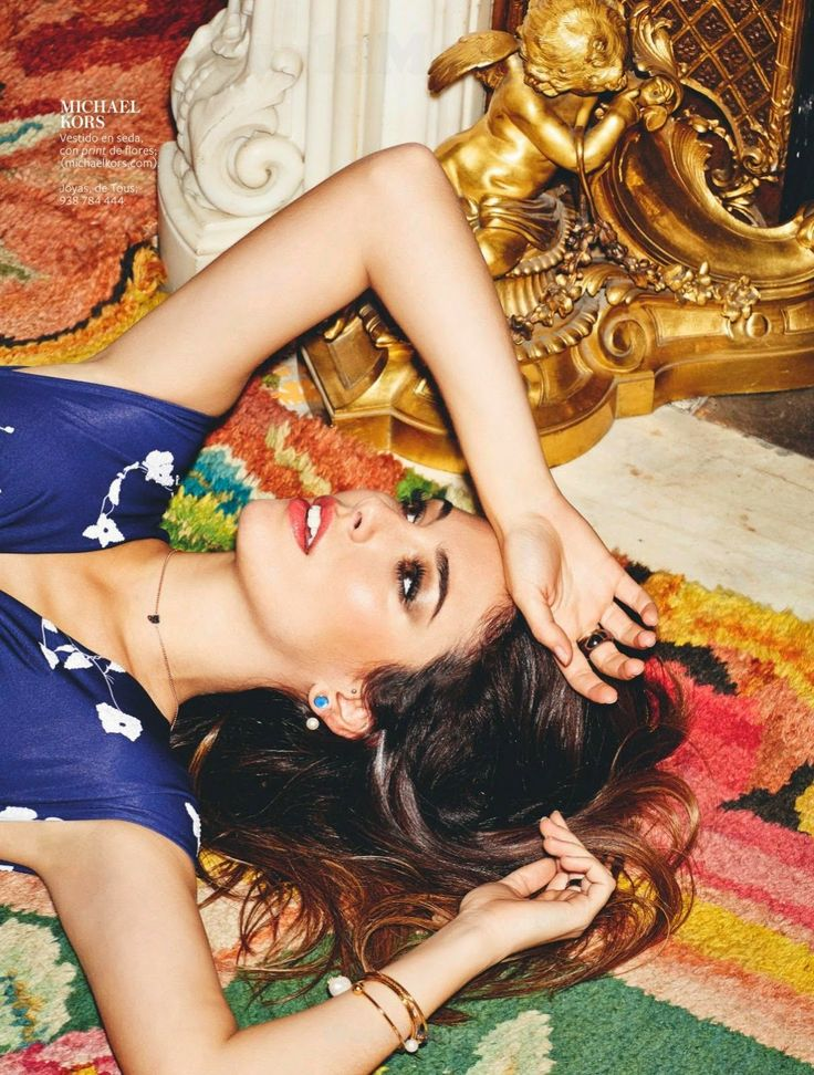 """Una Chica Diez"" Blanca Suarez by Antonio Terron for InStyle Spain May 2014"