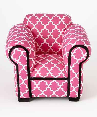 Look What I Found On #zulily! Pink Lattice Doll Chair #zulilyfinds