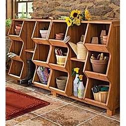 Great For Sports Equipment Storage!