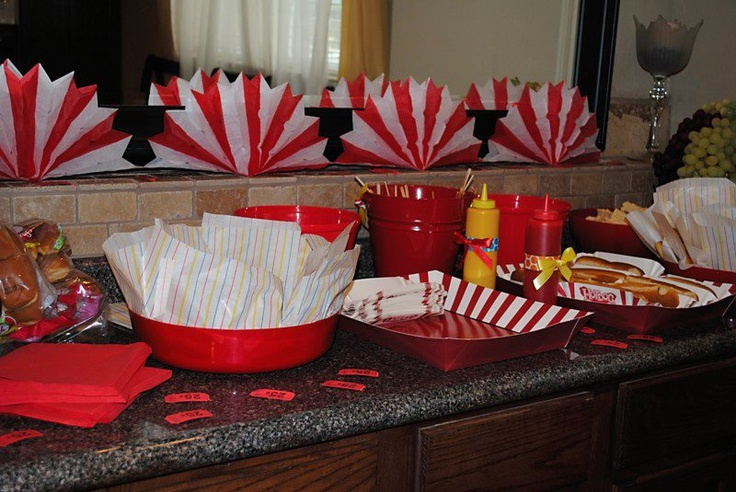 Carnival food party ideas pinterest - Carnival party menu ...