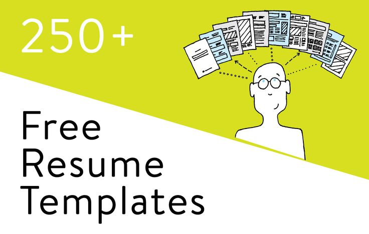283 Free Resume Templates in Word: download, customize, print, email. Chronological, functional, combination formats. Traditional, modern, creative designs.
