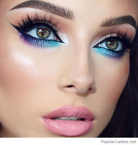 stunning dramatic eye makeup