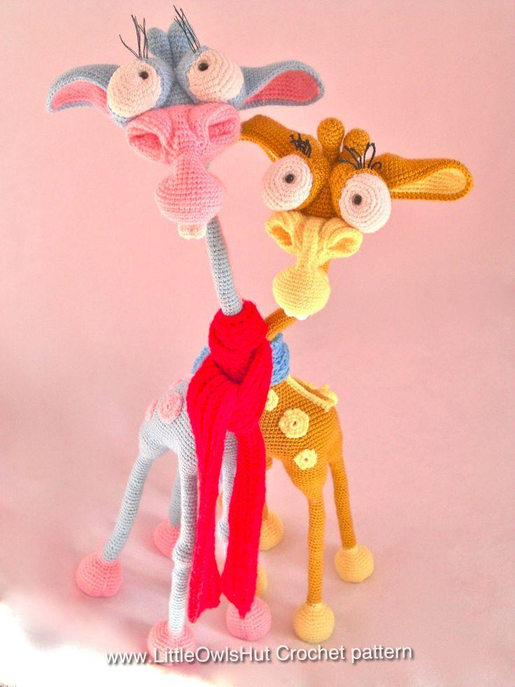 Giraffe George Amigurumi : 110 best images about haakfiguren on Pinterest Free ...