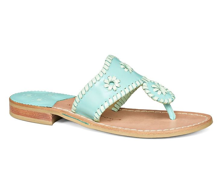 Lexi Sandal Caribbean Blue / Mint - Jack Rogers USA