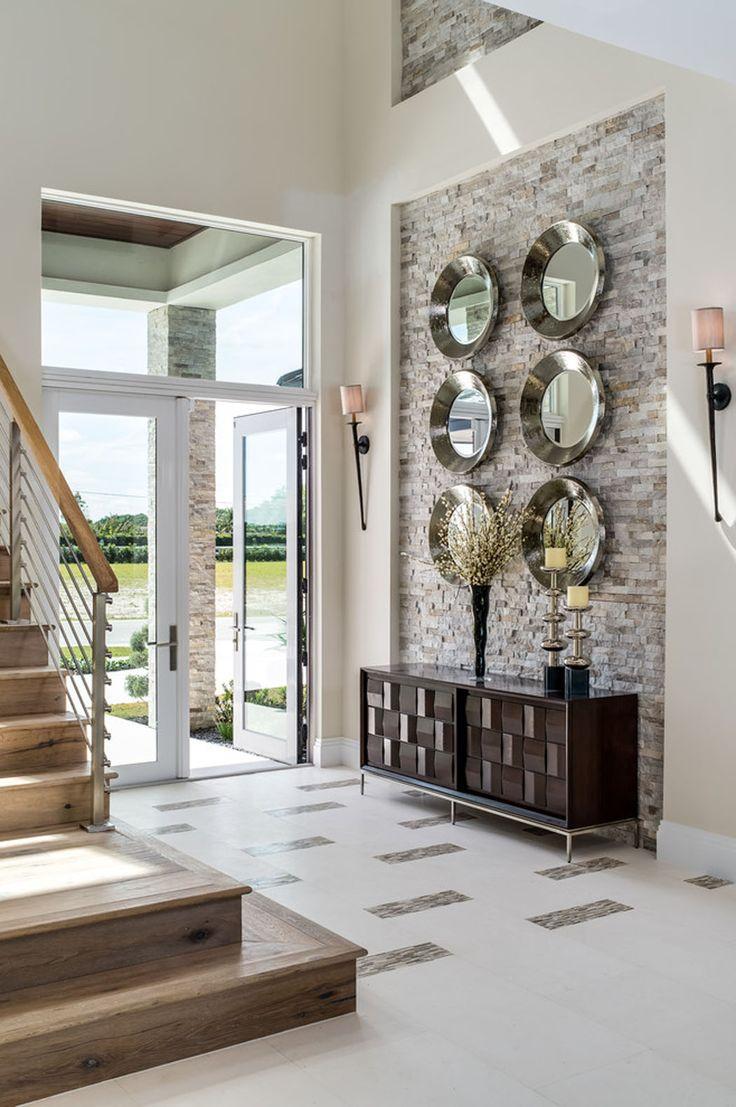 Délicieux Les Plus Belles Entrees De Maison #2: Belle Maison De Vacances Exotiques Avec Vue Sur Lu0027eau En Floride