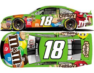 Kyle Busch supposed to run this scheme for 24 races in ...