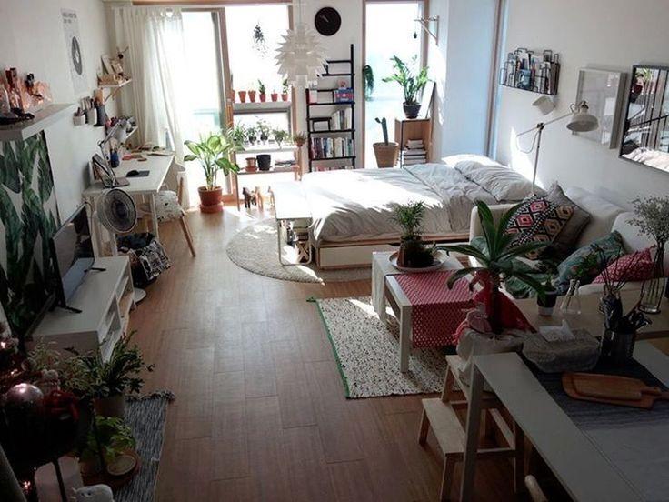48 Beautiful Studio Apartment Decoration Ideas