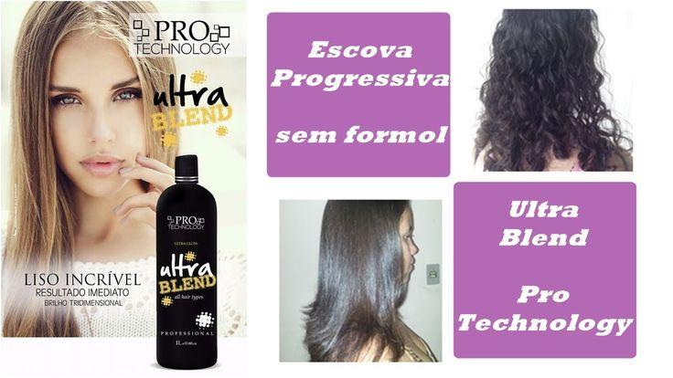 Ultra Blend by Pro Technology - Escova Progressiva sem formol #VEDA2