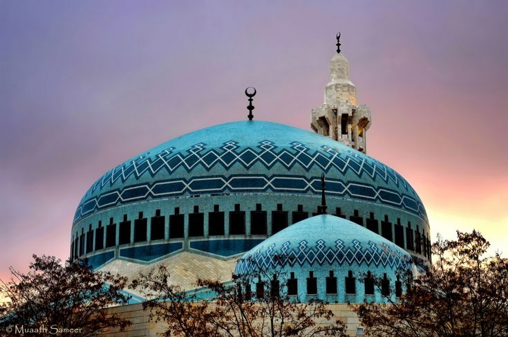 The Blue Mosque of Amman by Muaath Sameer on 500px