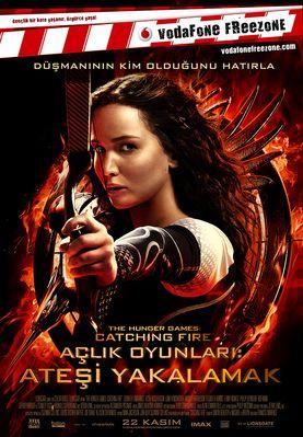 Açlık Oyunları 2: Ateşi Yakalamak #vizyondakifilmler http://www.sinemadevri.com/atesi-yakalamak.html