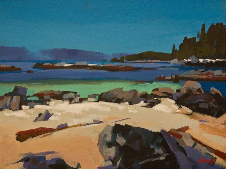 Shell Beach, West Coast, B.C., by Mike Svob