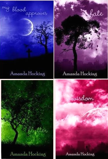 series by Amanda Hocking. I liked these. Easy, fun reads.