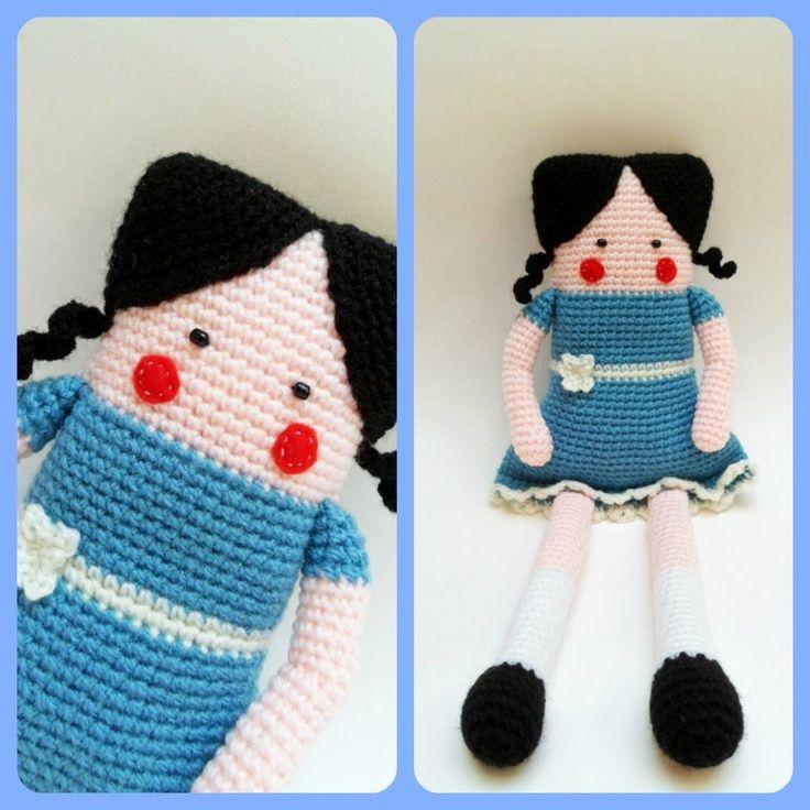 muñeca cuadrada crochet - Buscar con Google