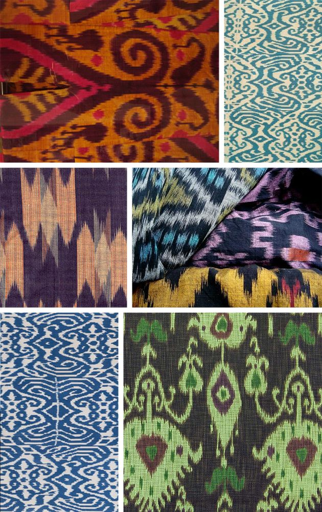 Beautiful ikat
