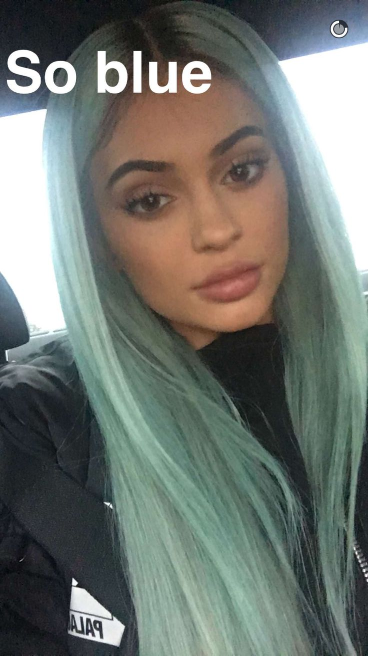 Kylie Jenner On Her Next Crazy Hair Colour...