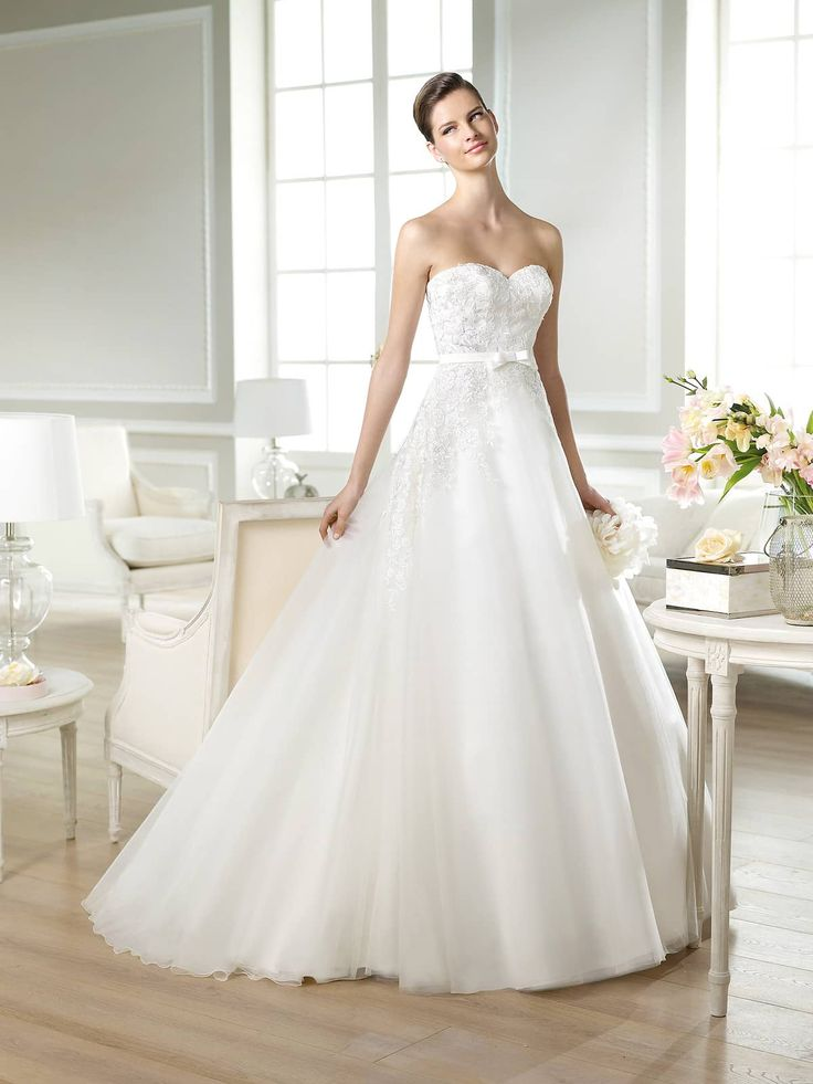 Открытое свадебное платье White One JAQUES.