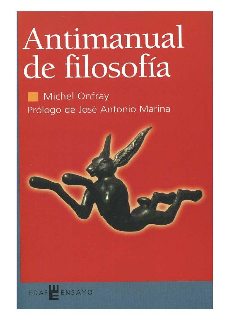 Antimanual de Filosofía [Michel Onfray]