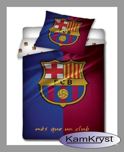 Bedding linens FCB Barcelona fan | Pościel FCB pościel kibica Barcelony #barcelona #barcelona_bedding