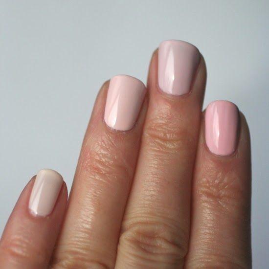 Essie Envy: Essie Pale Pink Comparison : Ballet Slippers, Minimalistic, Romper Room & Fiji