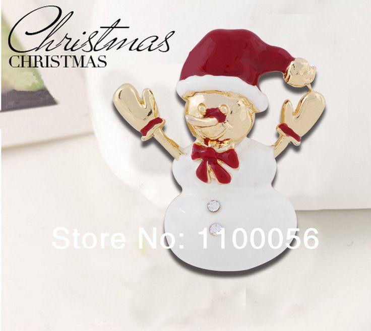 Костюм ювелирные изделия горный хрусталь кристалл снежный человек брошь X0270