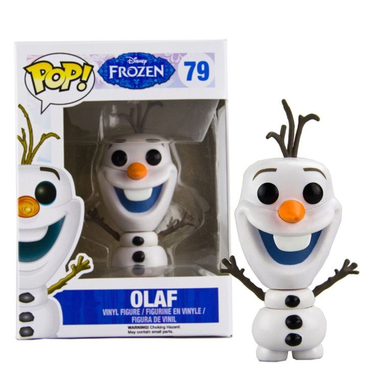 Underground Toys - Bobugt078 - Figurine Animation - Reine De Neige - Frozen - Bobble Head Pop 79 Olaf: Amazon.fr: Jeux et Jouets