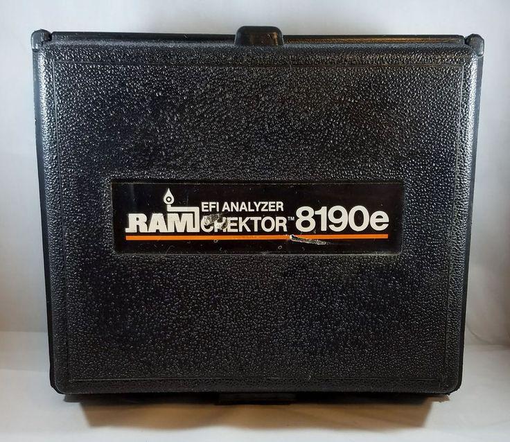 Ram Chektor 8190e Electronic Fuel Injection Analyzer EFI Tester Jetronic L D K | eBay Motors, Automotive Tools & Supplies, Diagnostic Service Tools | eBay!