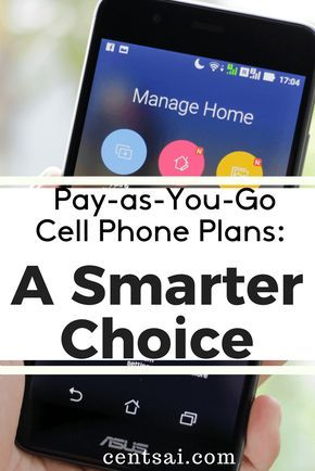 Big-name service providers can be expensive. Smaller, pay-as-you-go cell phone plans often cost less and provide service that's just as good.