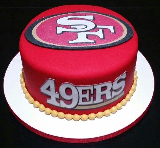 San Francisco 49ers Birthday Cake Baking Fun 49ers