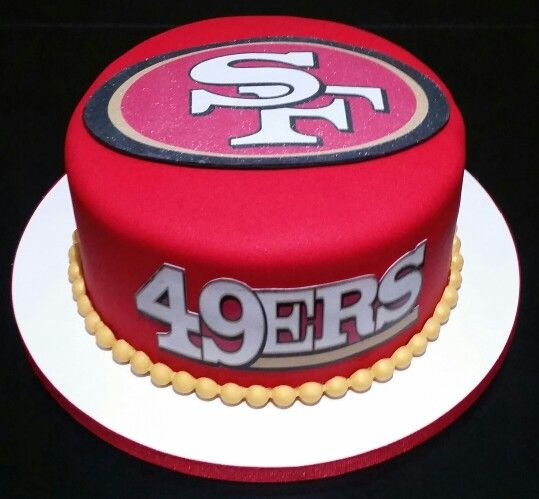 Birthday Cake Design San Francisco : Mas de 1000 ideas sobre 49ers Birthday Party en Pinterest ...