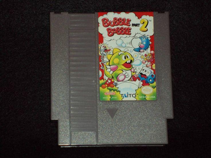 Bubble Bobble Part 2 Nintendo Entertainment System Cart ONLY...WORKS