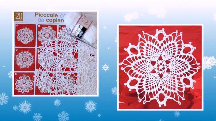 EcoCrochetArt. Bellissima doilies crochet diagram