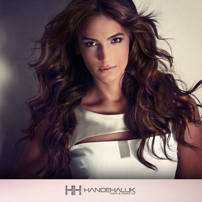 HANDEHALUK 2013 senesine Türkiye'nin en güzeli Açalya Samyeli Danoğlu ile gerçekleştirdiği Koleksiyon 2013 çekimi ile giriyor. #sac #moda #stil #cekim #hair #handehaluk #hairstyle #acalyasamyelidanoglu  www.handehaluk.com