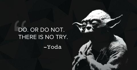 Geekyloot Master Yoda Star Wars Inspirational Movie Quotes